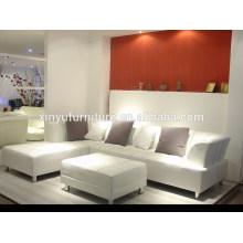 Home use big size living room sofa set with ottoman KW368