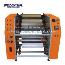 rebobinadora automática de cortadora de rollos de papel térmico