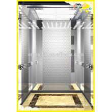 Elevador de pasajeros de ahorro de energía con sala de máquinas menos