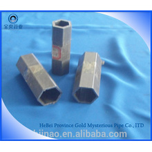 Cold drawn hexagonal steel pipe for PTO shaft