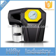 120W Cuatro en uno multifuncional vehículo inflador inflador presión de neumático medición de iluminación de emergencia
