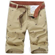 Pantalones cortos de algodón Bermudas de 2017 Bermudas de verano para hombre