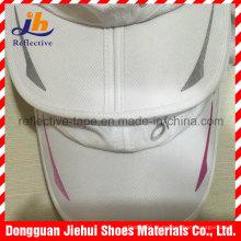 Logotipo de padrão de transferência de calor colorido reflexivo para roupas