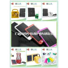 Un cargador del teléfono de la energía solar del recorrido cargador solar 2200mah del cargador del banco de la energía solar del cargador