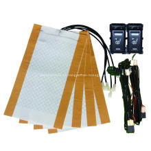 Calentador de asiento de coche de fibra de carbono Nissan Switch original