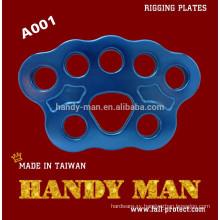 A001 Aluminum Rigging Anchor Plate
