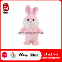Juguete de peluche Bunny Bunny Rabbit de alta calidad de pie de peluche