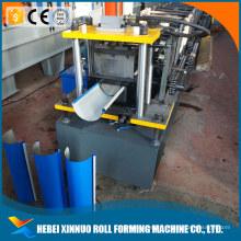 Xinnuo canton juste demi rond gutter galvanisé ondulé en métal tuile machine fabriqué en Chine
