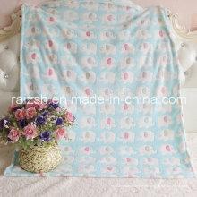 Mantas de bebé coral terciopelo, mantas para niños