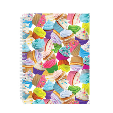 ICE CREAM CAKE 3D NOTEBOOK-0