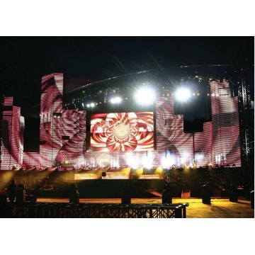 Stage Background LED Curtain Video Display