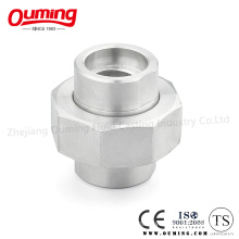 Stainless Steel High Pressure Union with Socket Welding