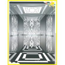 Diseño de pisos de mármol ascensor vvvf