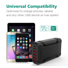 60W USB-C Mobiltelefon Ladestation mit 6 Ports