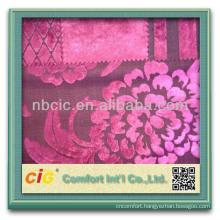 Latest Patterns Shiny 100% Polyester Cut Pile Sofa Fabrics