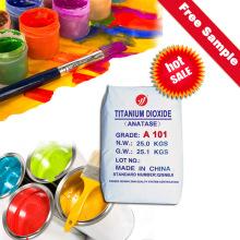 Titanium Dioxide Anatase A101 High Whiteess Pigment Tints Chemical Formula
