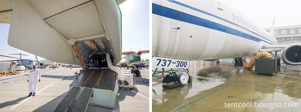 Airplane parking Air Conditioner1