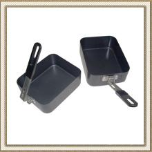 Camping Cookware antiadherente Set lonchera de (CL2C-DJG1813-2B)