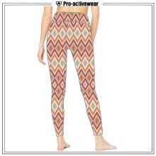 Umidade Wicking Custom Made Private Label Ladies Yoga Calças