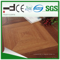 Revestimento laminado HDF do Parquet de superfície de seda de 600 * 600 * 12mm