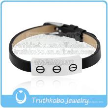 bracelet souvenir de cremation fait main bracelet en cuir