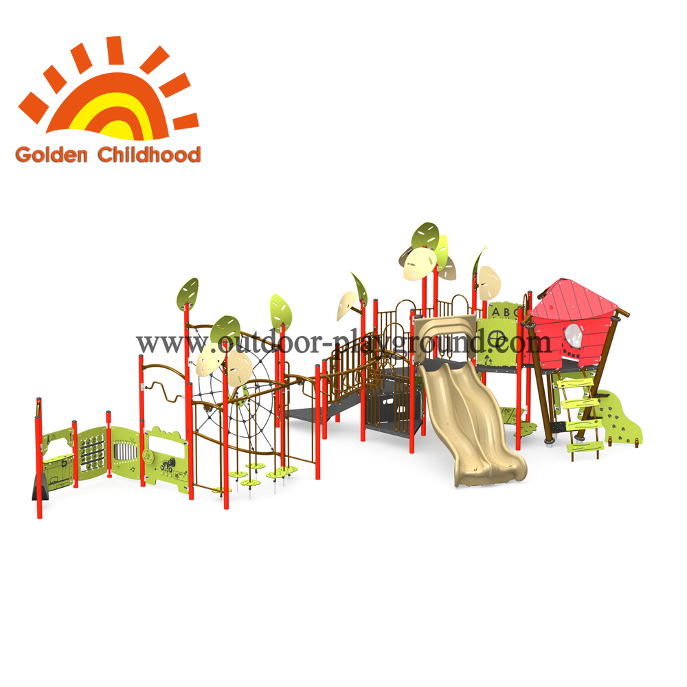 Apple Natural Series Outdoor Playground