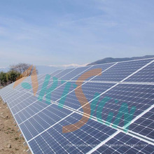 Solar Powered Systems with Ground Screws