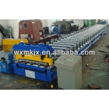 Colored steel arc plate forming machine