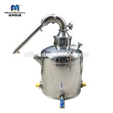 50/100/200 colonne en acier inoxydable distiller / distillation accueil vente chaude chaudière alcool / eau / whisky