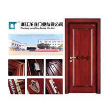 Porte en bois pleine d'entrée intérieure pour la pièce (LTS-404)
