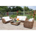 Antique Natural Water Hyacinth Sofa Set