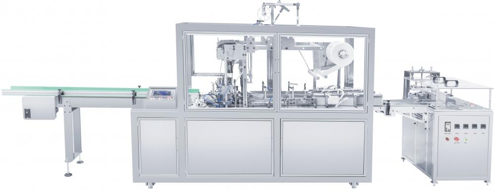 Three-dimensional transparent film packaging machine