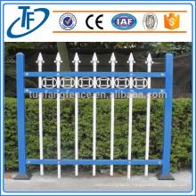 Cheap Powder coated Wrought iron garrison fence