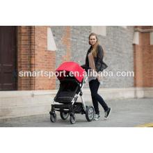 Quatro rodas carrinhos de bebê extravagantes