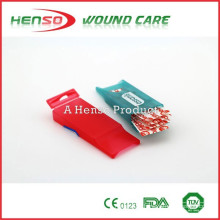 HENSO CE ISO Adhesive Wound Plaster Plastic Box