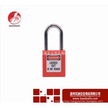 Wenzhou BAODSAFE 38mm Steel Xenoy Safety Padlock Lock BDS-S8601D Red