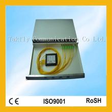 1310 ABS Rack Mount Fiber Optic PLC Splitter