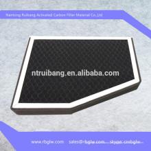 Filtro de aire del fotocatalizador nano Tio2 de la fabricación Filtro de aire de la cabina del carbono