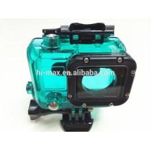 Mehrfarbige blaue / grüne / rote / weiße Farben Wasserdichtes Gehäuse für Kamera