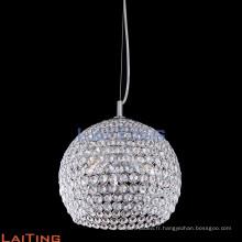 Zhongshan globe cristal pendentif lumière industrielle 71120