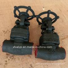 800lb/1500lb/2500lb Forged Steel A105 Thread End Gate Valve