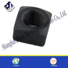 M8 DIN557 Standard Stahl Vierkantmutter für Bolzen