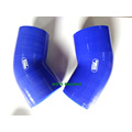 Azul 45 graus 76mm 3 '' Neck Elbow Silicone Radiator Mangueira Turbo