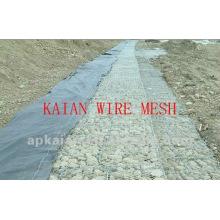 Electric galvanized stainless steel twist wire mesh