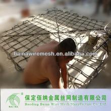Verzinkte Maschendrahtbeutel für den Bau