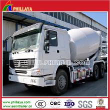 Cimento de Sinotruk HOWO / caminhão concreto do misturador para a venda