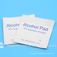 With CE FDA ISO certificate Hospital Use sterile Alcohol Pad