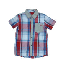 Nueva camisa del muchacho del diseño, manera embroma la ropa (BS029)