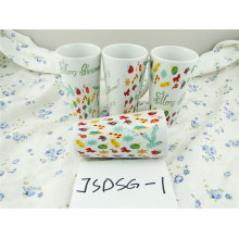 Christmas Promotional Porcelain Mug with Cheap Price