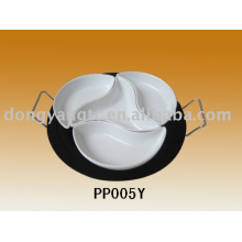 ceramic meat plate